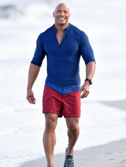 Custom Made Swimming Trunks by Under Armour in Baywatch