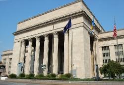 Philadelphia, Pennsylvania by 30th Street Station in The Visit