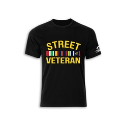 Street Veteran Tee Shirt by Claw & Co in Ballers