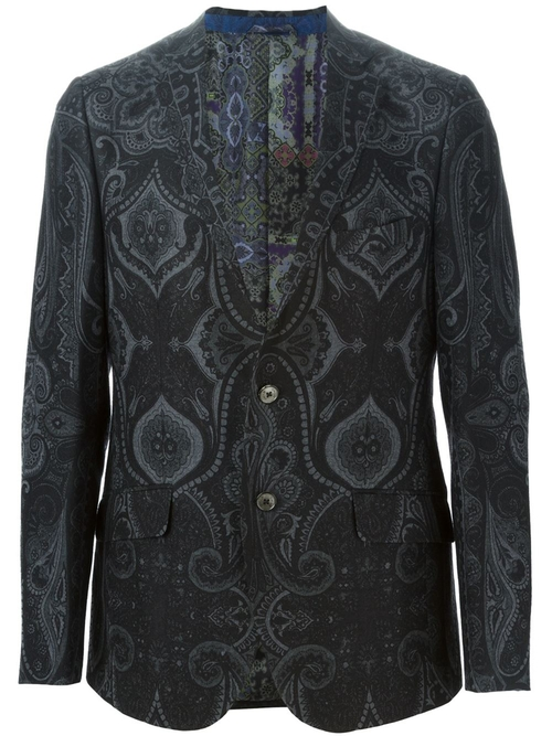 Paisley Print Blazer by Etro in American Horror Story - Season 5 Episode 3