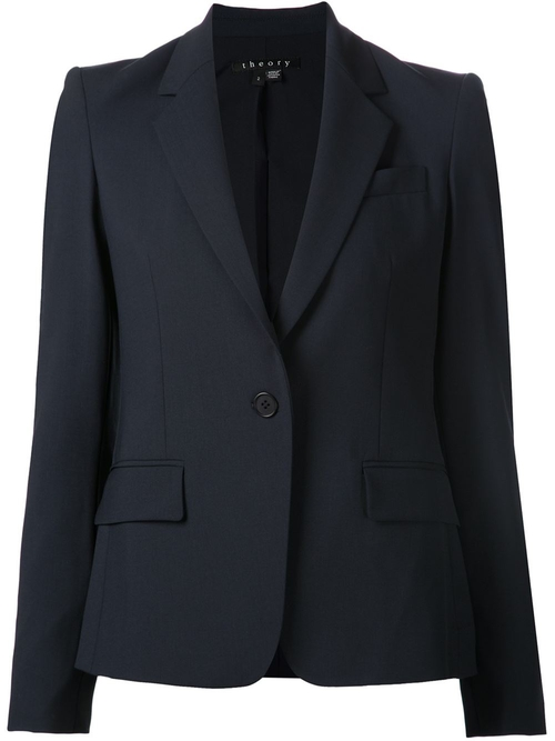 Fitted Blazer by Theory in Scandal - Season 5 Episode 7