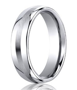 Cobalt Chrome Wedding Ring by Mens-Wedding-Rings in While We're Young