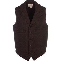 Mackinaw Western Vest by Filson in The Blacklist