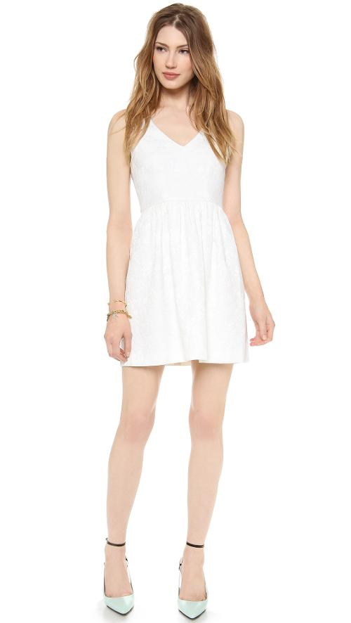 Sleeveless V Neck Dress by 4.Collective in What If