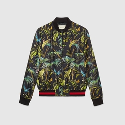 Tropical Print Silk Jacket by Gucci in Keeping Up With The Kardashians