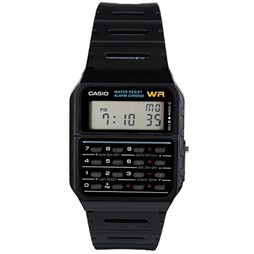 CA53W Calculator Watch by Casio in Back To The Future