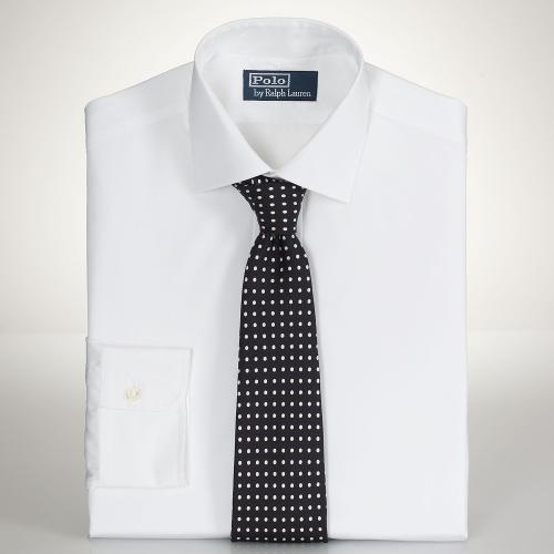 Fine Custom-Fit Poplin Regent by Polo Ralph Lauren in Unbroken