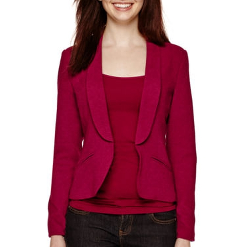 Long-Sleeve Blazer by Decree in The Big Bang Theory - Season 9 Episode 9