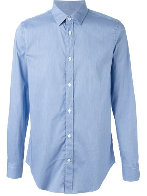 Classic Button Down Shirt by Mauro Grifoni in Elf