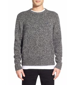 Donegal Heritage Slim Fit Crew Neck Sweater by Original Penguin in Silicon Valley