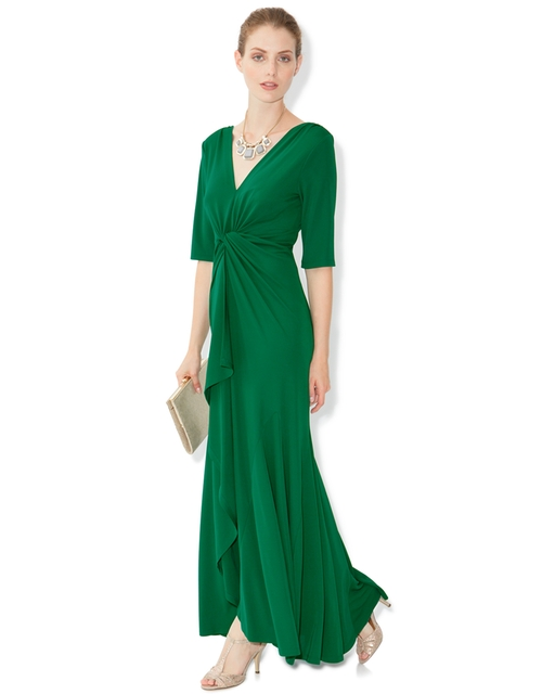 Cath Long Sleeves Maxi Dress by Monsoon in Bridesmaids