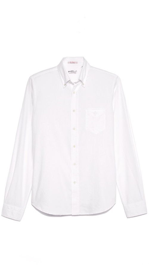 Kick Ass Cotton Oxford Shirt by Gant Rugger in John Wick