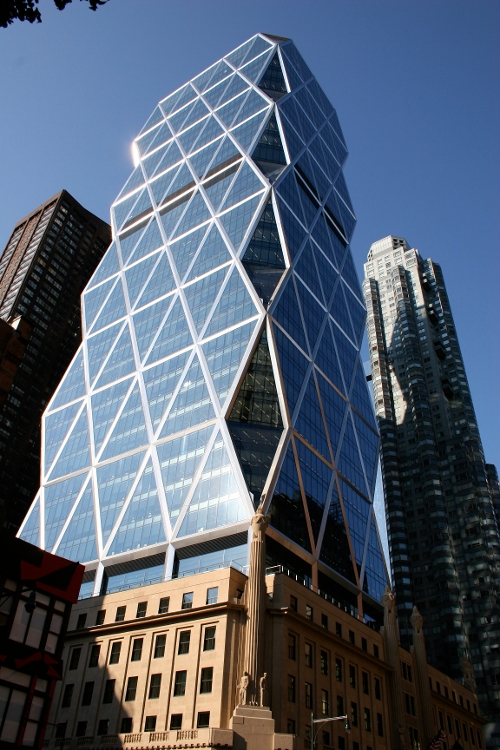 Hearst Tower New York City, New York in Fantastic Four