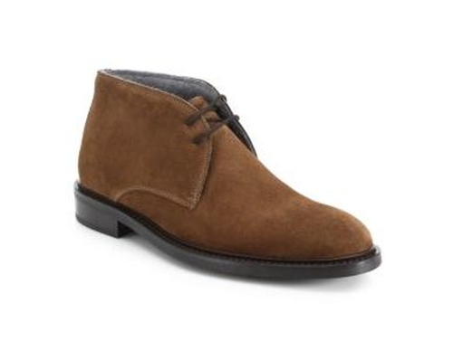 New York Brewer Suede Chukka Boots by To Boot in Joshy