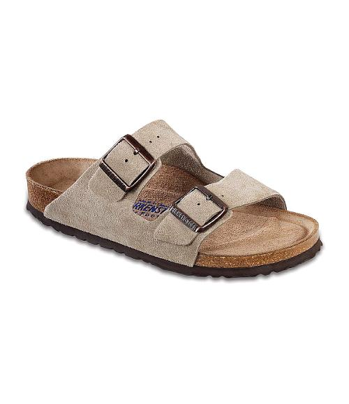 Men's Soft Footbed Arizona Sandals by Birkenstock in Couple's Retreat
