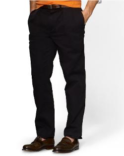 Classic Pleated Preppy Chino Pants by Ralph Lauren in Limitless