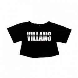 Women's Dashed Crop Top by Villans in Keeping Up With The Kardashians