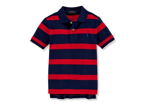 Boys' Mesh Striped Polo Shirt by Ralph Lauren in Sex and the City 2