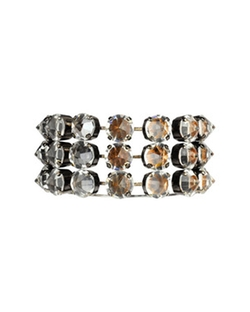 Spike Rhinestone Bracelet by Made Her Think  in Gossip Girl