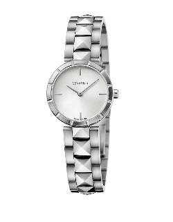 Stainless Steel Bracelet Watch by Calvin Klein in Spy