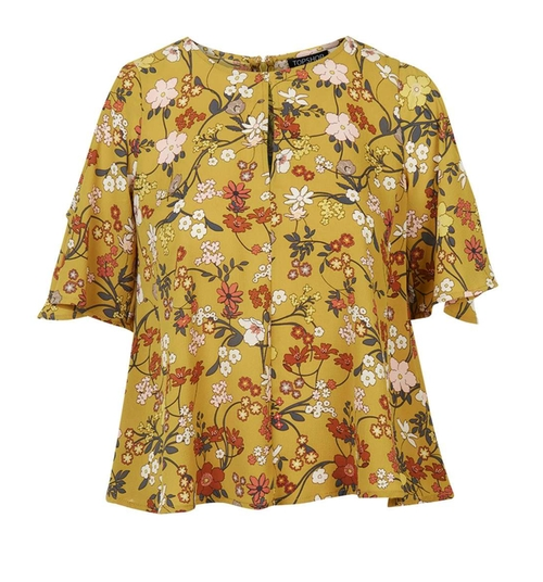 Secret Garden Cold Shoulder Top by Topshop in The Great Indoors - Season 1 Preview