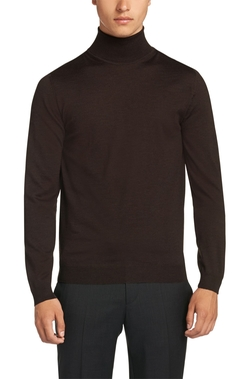 'Musso-D'Virgin Wool Turtleneck Sweater by Boss in On Her Majesty's Secret Service