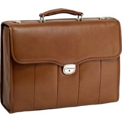 Series North Park Leather Ex Briefcase by McKlein in Paddington