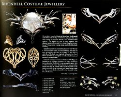 Custom Made Galadriel Crown by Ann Maskrey & Bob Buck (Costume Designer) in The Hobbit: The Battle of The Five Armies