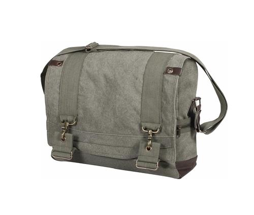 Large  B15 Pilot Messenger Bag Sling Flap - Olive Drab by Rothco in Jessica Jones - Season 1 Episode 8