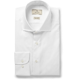 Mayfair Slim-Fit Cotton-Poplin Shirt by Hackett in Mission: Impossible - Rogue Nation