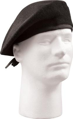 G.I. Type Black Beret without Flash by Rothco in The Expendables 3
