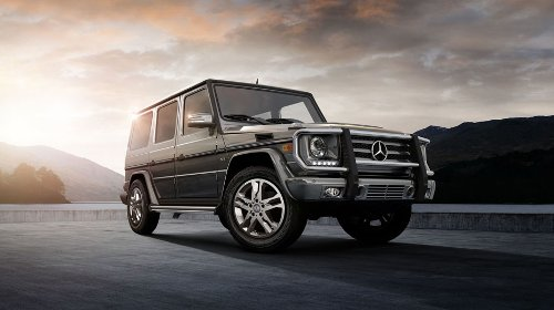 G-Class SUV by Mercedes-Benz in Furious 7