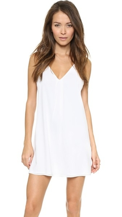 Fierra Y Back Tank Dress by Alice + Olivia in The Spy Who Loved Me