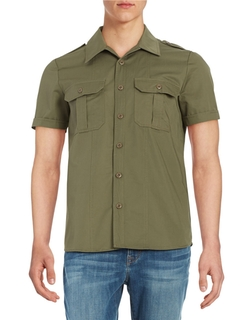 Military Cargo Shirt by Laboratory LT Man  in The Flash