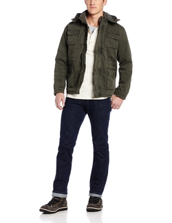 Men's Four Pocket Jacket by American Stitch in Regression
