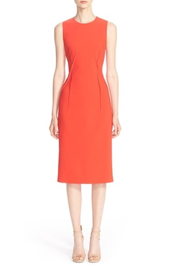 Pebble Cady Sheath Dress by Michael Kors in Empire
