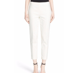 'Alexa' Ottoman Ankle Pants by St. John Collection in The Boss