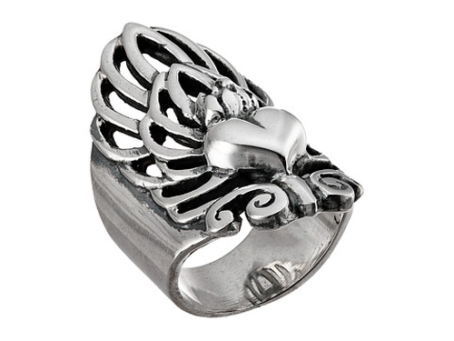 Sacred Heart Finger Ring by King Baby Studio in Ride Along 2