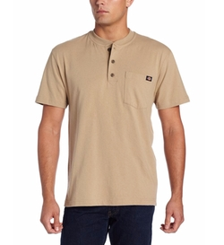 Men's Heavyweight Henley Shirt by Dickies  in The Walking Dead
