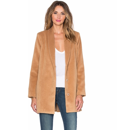 x Revolve The Everyday Coat by Lovers + Friends in Collateral Beauty