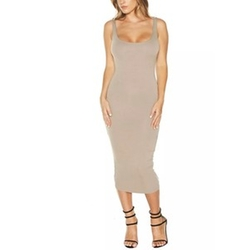Hold Me Oh So Tight Midi Dress by Naked Wardrobe in Keeping Up With The Kardashians