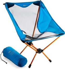 Blue Flex Lite Chair by REI in A Walk in the Woods