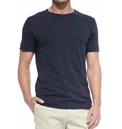 Slub Crewneck Short-Sleeve T-Shirt by Theory in Suits