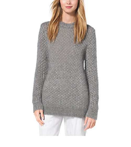 Seedstich Mohair & Silk Sweater by Michael Kors in While We're Young