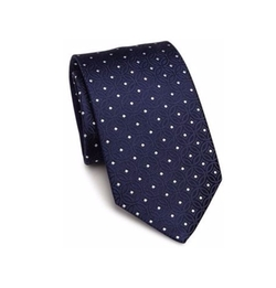 Dotted Silk Tie by Eton of Sweden  in Fist Fight