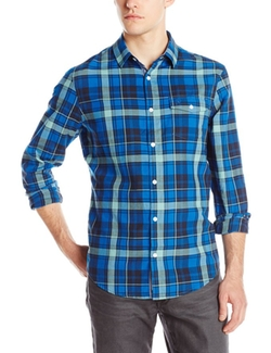Herringbone Plaid Shirt by Original Penguin in The Fundamentals of Caring