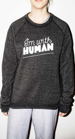 I'm With Human Sweatshirt by Rachel Antonoff in Gilmore Girls: A Year in the Life