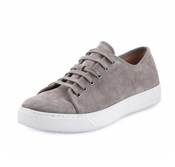 Austin Suede Low-Top Sneakers by Vince in Master of None