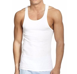 Ribbed Tank Top by Saks Fifth Avenue Collection in Logan