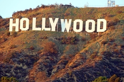 Los Angeles, California by Hollywood Sign in CHIPs